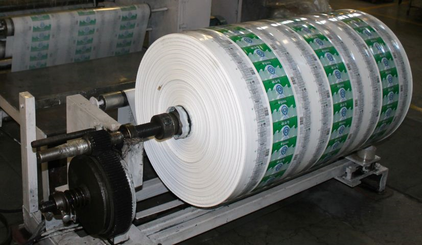 Full Roll on Machine